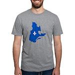 CarteQc1AvecLysPMS293 Mens Tri-blend T-Shirt