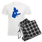 CarteQc1AvecLysPMS293 Men's Light Pajamas