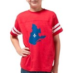 CarteQc1AvecLys Youth Football Shirt