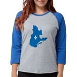 CarteQc1AvecLys Womens Baseball Tee