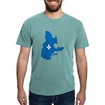 CarteQc1AvecLys Mens Comfort Colors Shirt