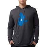CarteQc1AvecLys Mens Hooded Shirt