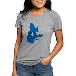 CarteQc1AvecLys Womens Tri-blend T-Shirt