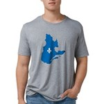 CarteQc1AvecLys Mens Tri-blend T-Shirt