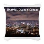 pasdecoupetexte Woven Throw Pillow