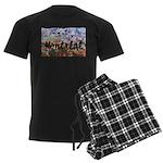 4decoupesignaturecentre Men's Dark Pajamas
