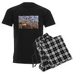 4decoupesignaturehaut Men's Dark Pajamas