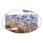 4decoupesignaturehaut Sticker (Oval 10 pk)