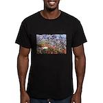 4decoupesignaturehaut Men's Fitted T-Shirt (da