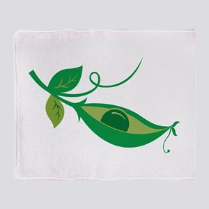 Pea In A Pod Throw Blanket