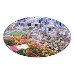 1decoupeseul Sticker (Oval 50 pk)