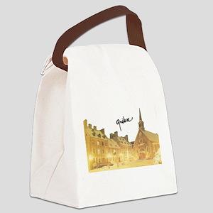 4decoupesignature Canvas Lunch Bag