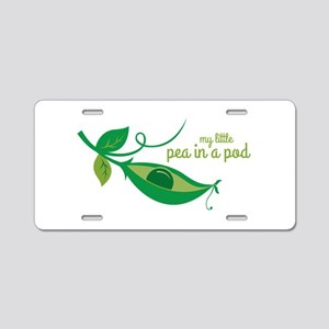 My Little Pea In A Pod Aluminum License Plate