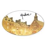 4decoupesignature Sticker (Oval 10 pk)