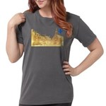 3decoupefleurlys Womens Comfort Colors Shirt