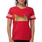 3decoupefleurlys Womens Football Shirt