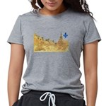 3decoupefleurlys Womens Tri-blend T-Shirt