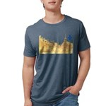 3decoupefleurlys Mens Tri-blend T-Shirt