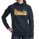 3decoupefleurlys Women's Hooded Sweatshirt
