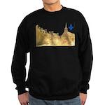 3decoupefleurlys Sweatshirt (dark)