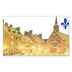 3decoupefleurlys Sticker (Rectangle 50 pk)