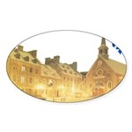 3decoupefleurlys Sticker (Oval 50 pk)