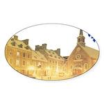 3decoupefleurlys Sticker (Oval 10 pk)