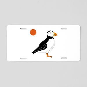 Puffin Bird Aluminum License Plate