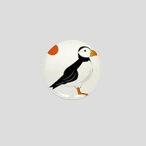 Puffin Bird Mini Button
