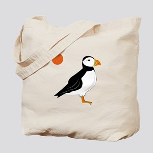 Puffin Bird Tote Bag