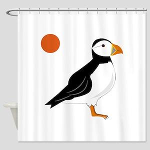 Puffin Bird Shower Curtain