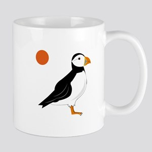 Puffin Bird Mugs