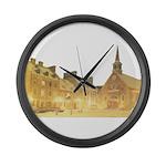 1decoupeseul Large Wall Clock