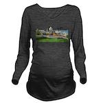 2decoupesignature Long Sleeve Maternity T-Shir