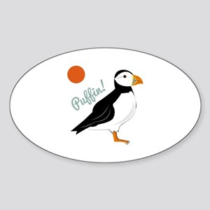Puffin! Bird Sticker