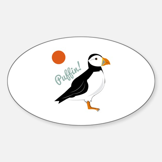 Puffin! Bird Decal