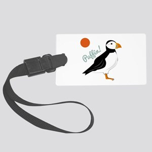 Puffin! Bird Luggage Tag