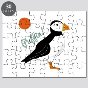 Puffin! Bird Puzzle