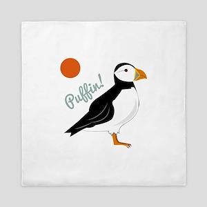 Puffin! Bird Queen Duvet