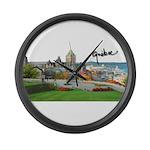 2decoupesignature Large Wall Clock