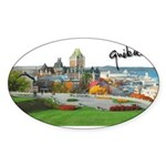 2decoupesignature Sticker (Oval 50 pk)