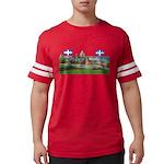 2decoupe2drapeaux Mens Football Shirt
