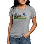 2decoupe2drapeaux Womens Tri-blend T-Shirt