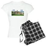 2decoupe2drapeaux Women's Light Pajamas