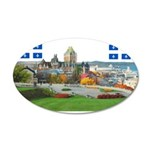 2decoupe2drapeaux 35x21 Oval Wall Decal