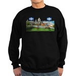 2decoupe2drapeaux Sweatshirt (dark)