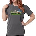 2decoupedrapeau Womens Comfort Colors Shirt