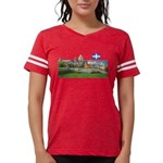 2decoupedrapeau Womens Football Shirt