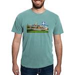 2decoupedrapeau Mens Comfort Colors Shirt