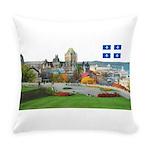 2decoupedrapeau Everyday Pillow